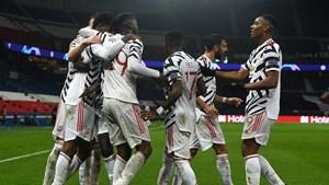 HLV Solskjaer nổ tưng bừng khi Man Utd đánh bại PSG