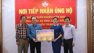 Bắc Giang: 4 tỷ đồng ủng hộ đồng bào miền Trung