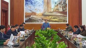 Quảng Bình tổ chức Đại hội Đảng bộ tỉnh trong 1 ngày, dành thời gian khắc phục hậu quả mưa lũ
