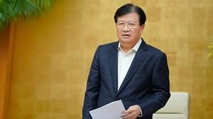 Phó Thủ tướng Trịnh Đình Dũng: Sạt lở đất khó ứng phó vì 'không biết xuất hiện lúc nào'