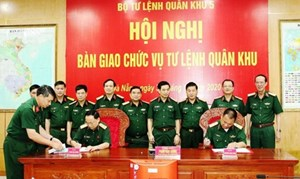 Trung tướng Thái Đại Ngọc giữ chức Tư lệnh Quân khu 5