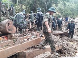 Hòa Bình di dời khẩn cấp 24 hộ dân khỏi khu vực nguy cơ sạt lở cao