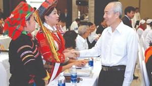 Phát huy sức mạnh đại đoàn kết toàn dân tộc, tăng cường và mở rộng Mặt trận dân tộc thống nhất trong tình hình mới