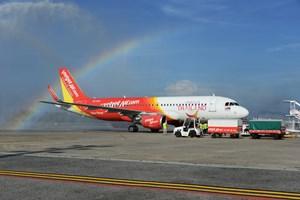Vietjet nhận thêm tàu bay mới để mở rộng mạng bay tại Thái Lan