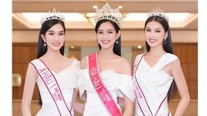 [ẢNH] Top 3 Hoa hậu Việt Nam lần đầu lộ diện đầy cuốn hút sau đăng quang