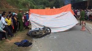 Hà Giang: Vượt xe đầu kéo, ô tô 7 chỗ tông chết 2 phụ nữ đi xe máy