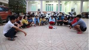 Tây Ninh: Điều tra, xử lý các đối tượng đánh bạc, vận chuyển thuốc lá lậu