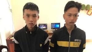 Bắt giữ 2 nam thanh niên trộm cắp tài sản của trung tâm giáo dục thường xuyên