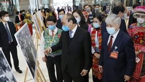 [ẢNH] Lãnh đạo Đảng, Nhà nước, MTTQ dự ĐH đại biểu các dân tộc thiểu số Việt Nam lần thứ II