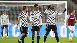 Man Utd lại thắng ngược trên sân khách