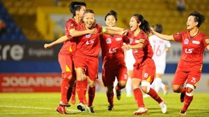 Giải bóng đá nữ VĐQG 2020: TP HCM I tiến gần ngôi vô địch