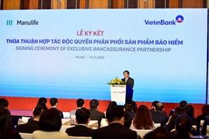 VietinBank và Manulife bảo vệ sức khỏe, ổn định tài chính cho khách hàng