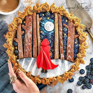 [ẢNH] Nghệ thuật trang trí bánh đẹp như tranh vẽ