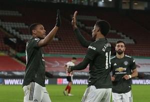 Manchester United có trận thắng ngược dòng thứ 6 liên tiếp