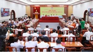 Khai mạc Hội nghị Ðoàn Chủ tịch UBTƯ MTTQ Việt Nam lần thứ 4