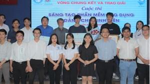 Trao giải cuộc thi Sáng tạo phần mềm dành cho sinh viên năm 2020