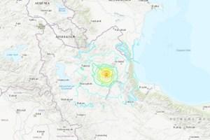 Động đất rung chuyển Iran: 5 người chết, gần 300 người bị thương