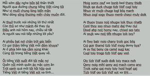 Bộ GDĐT không có chủ trương thay đổi chữ viết Tiếng Việt