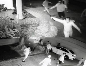 Hàng chục côn đồ dùng hung khí tấn công nhà dân