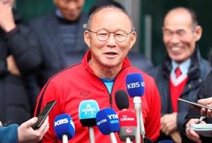 HLV Park Hang Seo: 'Cầu thủ Việt Nam có tố chất như Son Heung Min'