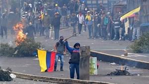 Ecuador: Hàng nghìn người tham gia tổng đình công phản đối chính phủ