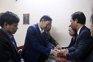 Lãnh đạo TP Hà Nội chia buồn với gia đình 3 cán bộ, chiến sỹ hy sinh tại xã Đồng Tâm