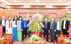 Lãnh đạo các địa phương, đơn vị chúc mừng Tỉnh ủy Gia Lai nhân Ngày thành lập Đảng