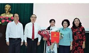 Bà Nguyễn Trần Phượng Trân được chỉ định làm Chủ tịch Hội LHPN TP Hồ Chí Minh