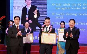 10 thầy thuốc trẻ Thủ đô tiêu biểu nhận giải thưởng Đặng Thùy Trâm