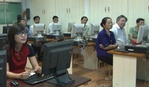 100 thí sinh dự 'Hội thi ứng dụng công nghệ thông tin trong hoạt động công đoàn'