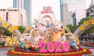 Đường hoa và đường sách TP HCM đón gần 1,9 triệu lượt khách Xuân Canh Tý 2020