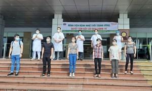 Nhiều bệnh nhân Covid-19 ở Mê Linh được công bố khỏi bệnh