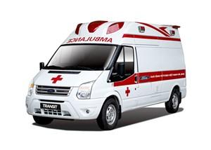 Ford tặng xe cứu thương áp lực âm cho Bệnh viện Bệnh nhiệt đới TW