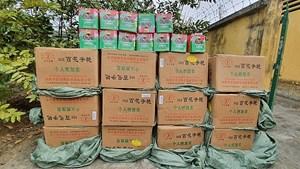 Lào Cai: Thu giữ gần 700kg pháo hoa lậu