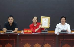 115 sản phẩm được bình chọn 'Hàng Việt Nam được người tiêu dùng Thủ đô yêu thích' năm 2017