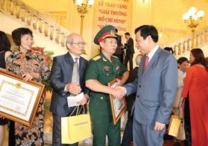 Xét tặng Giải thưởng Hồ Chí Minh về VHNT năm 2021