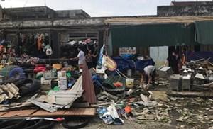 150 hộ dân xã Kỳ Hoa được nhận hỗ trợ bão số 10