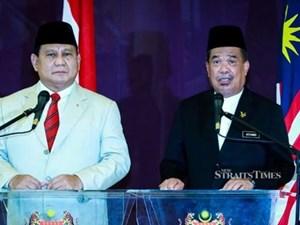 Malaysia, Indonesia tăng cường hợp tác quốc phòng