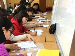 Ngày 21/5, thi tuyển viên chức giáo viên Hà Nội