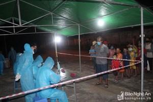 Nghệ An: 213 công dân trở về từ nước ngoài tiếp tục được cách ly