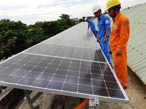 Thúc đẩy phát triển năng lượng tái tạo