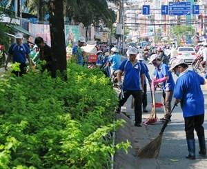 TP Hồ Chí Minh: Triển khai phong trào '15 phút vì thành phố văn minh - sạch đẹp'