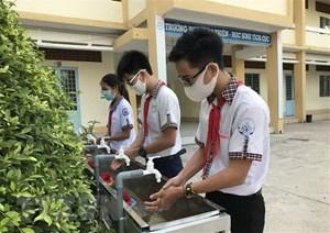 Bộ GDĐT ban hành 15 tiêu chí đánh giá mức độ an toàn phòng, chống dịch trong trường học