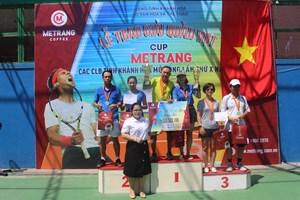 Bế mạc giải quần vợt tranh cúp Mê Trang 2019