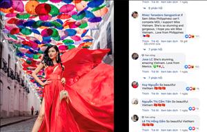 Á hậu Kiều Loan lọt top 6 bình chọn tại Miss Grand International
