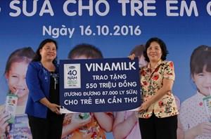 12 năm vì sứ mệnh: 'Để mọi trẻ em đều được uống sữa mỗi ngày'