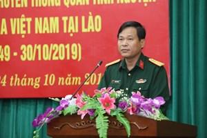 Chuẩn bị kỷ niệm 70 năm Ngày truyền thống Quân tình nguyện và chuyên gia Việt Nam tại Lào