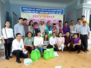 200 suất quà đến với bà con vùng lũ tỉnh Quảng Nam