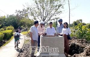 Cà Mau: Xã Hòa Thành cơ bản đạt 19/19 tiêu chí xã nông thôn mới