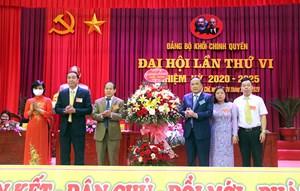 Ba Chẽ (Quảng Ninh): Đại hội điểm Đảng bộ Khối Chính quyền